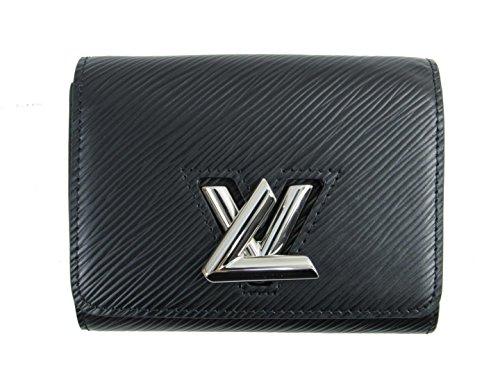 [ルイヴィトン] LOUIS VUITTON ポルトフォイユ・ツイスト コンパクト 三つ折り財布 財布 ノワール エピ M64414 [中古]