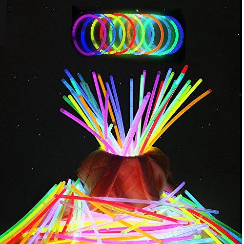 ビーポーラ(BPOLER) 蛍光ブレスレット 300本セット 10色 各30本