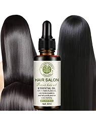 Symboat ヘアケアエッセンシャルオイル 乾燥した 傷んだ髪 修復 頭皮治療 洗わない やわらか なめらか しなやかさ 栄養補給 保湿