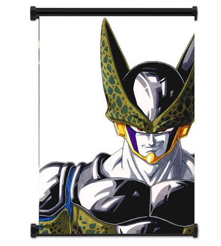ドラゴンボールZアニメセルファブリック壁スクロールポスター( 16x 22)インチ。[ WP ] dragonballz-67