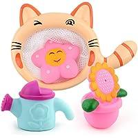 Beautyer ベビー お風呂 おもちゃ キッズ スイミング 人形 バスタブ プレイセット ウォッシュ プレイ カートゥーン 教育玩具セット (シャワー)