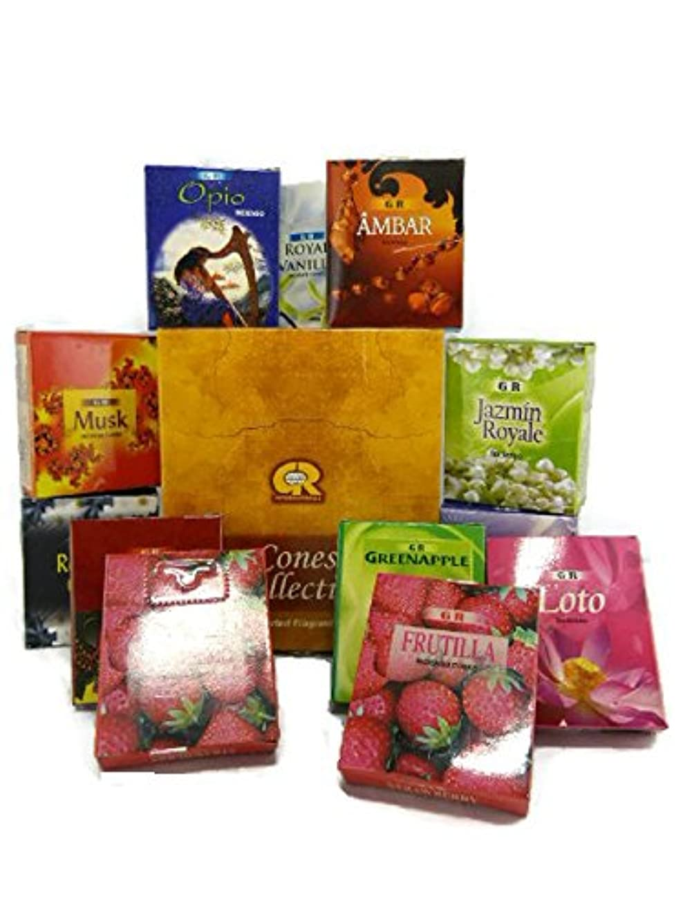 薄汚い投獄ゼロCones collection- 12 Fragrances in aボックス。