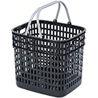 和泉化成 デュエット バスケット深型 ブラック (42.5×36×高40.5cm)