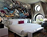 LYSBHX 壁紙壁画(W)250X(H)175Cm正義写真壁紙ヒーロー壁画壁紙アートルーム装飾ウォールアート子供部屋寝室Liv