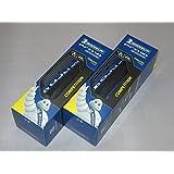 【正規代理店品】 Michelin【ミシュラン】  Pro4 Service Course V2 【プロ4サービスコース】 ロード用クリンチャータイヤ 2本セット (ブルー, 700×23)