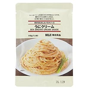 無印良品 素材を生かしたパスタソース うにクリーム 110g(1人前)