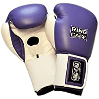 レディースラベンダートレーニングボクシンググローブfor Muay Thai , MMA , Kickboxing、ボクシング