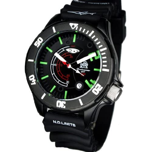 [トーチマイスター1937]Tauchmeister1937 腕時計 ドイツ製 ドイツ海軍ダイバーズ深海200M防水GMT 3Dダイヤル T0236(並行輸入品)