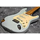 Fender Custom Shop/Limited Edition 1956 Stratocaster Relic Sonic Blue over Sunburst