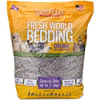SUNSEED Fresh World Bedding - 975 Cubic Inch - Gray Fleck by Sun Seed