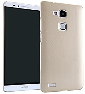 【ShineZone】オリジナル Huawei Ascend Mate 7 専用 高品質 超薄型スリムケース最軽量(ゴールド)