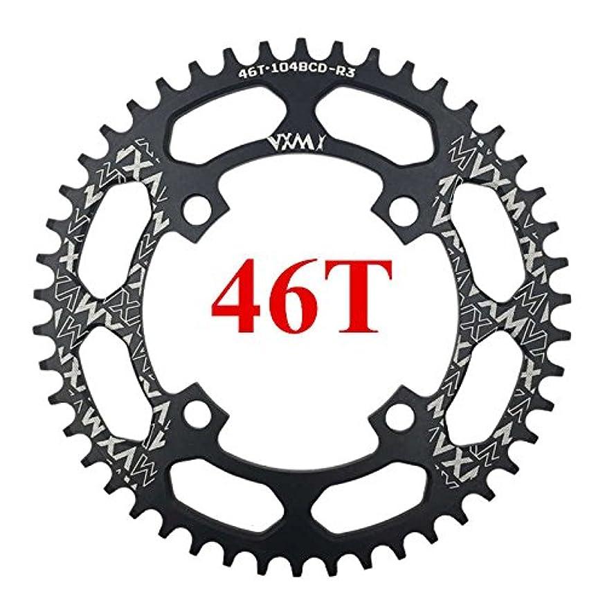 予感と闘うルアーPropenary - 自転車104BCDクランクオーバルラウンド30T 32T 34T 36T 38T 40T 42T 44T 46T 48T 50T 52TチェーンホイールXT狭い広い自転車チェーンリング[ラウンド46T...