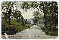 ビューin the Botanical Garden、Bronx公園、ニューヨーク、1912|historicはがき|ヴィンテージアンティークポスターReproduction 36in x 24in 4008928_3624