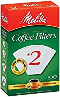 Melitta USA INC 622712 Cone Coffee Filters 100 Count - No. 2 by Melitta