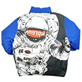 SUPREME シュプリーム 16AW Astronaut Puffy Jacket ダウンジャケット 青 M 並行輸入品
