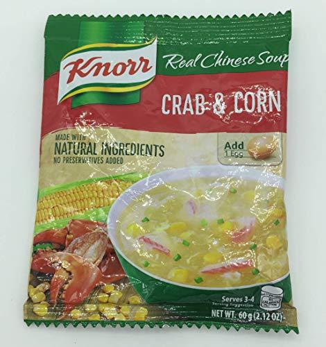 中華スープの素 クラブ&コーン 味の素 Real Chinese Soup CRAB&CORN Knorr