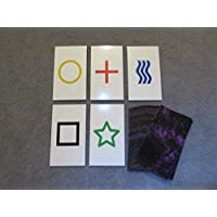 2PK E02C Low Cost Zener Style UNMARKED ESP Testing Cards - not marked - not a magic trick [並行輸入品]