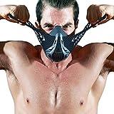 FDNRO sports masks 運動マスクはマスクを訓練して、乗ってマスクをして、ランニングのマスク、高い海抜の仮面を模擬して、フィットネスのマスク、無酸素運動のマスク (carbon fibre, S)