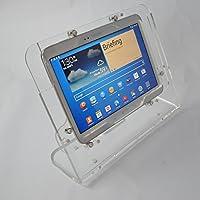 Samsung Galaxy Tab 210.1Galaxy Note 2013盗難防止クリアデスクトップスタンドキットfor POS、キオスクShow表示