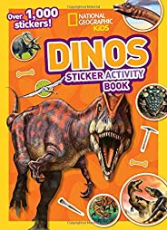 Dinos Sticker Activity Book: Over 1,000 Stickers!