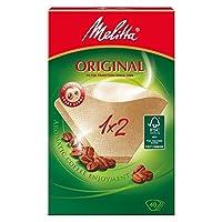 メリタパックにつき2杯の濾紙40 - Melitta Two Cup Filter Papers 40 per pack [並行輸入品]