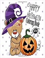 Happy Halloween Coloring Book: Happy Halloween Coloring Book for Toddlers
