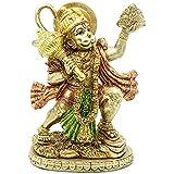 Hindu Lord Flying Hanuman Statue