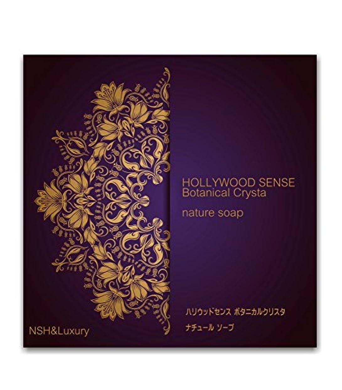 定期的入場料競う「ナッシュ&ラグジュアリー」 ハリウッドセンス ボタニカルクリスタ アイムソープ (わくねり化粧石けん 80g)
