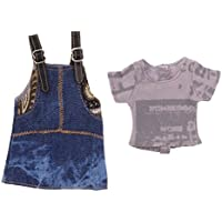 SONONIA  Tシャツ  &  ショルダーストラップ  ジーンズ ドレス 服装  12インチブライスドール用