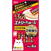 チャオ エナジーちゅーる とりささみ 14g×4本 ペット用品 猫用食品(フード・おやつ) 猫用 サプリメント [並行輸入品]