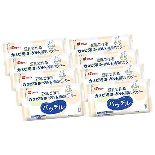 【公式】フジッコ 豆乳で作るカスピ海ヨーグルト補助パウダー パウデル(1セット)