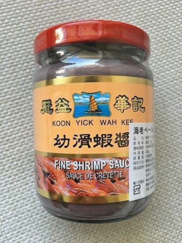 中華調味料 香港 冠益華記 蝦醤 海老ペースト 海老みそ 227g シャージャン