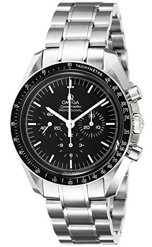 [オメガ]OMEGA 腕時計 スピードマスター ブラック文字盤...