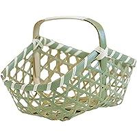 山下工芸(Yamasita craft) 青山型手付バスケット ミニ 71023830