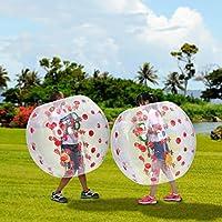 インフレータブルバブルボール、PVC 1.2 MインフレータブルバンパーボールHuman Knockerバブルサッカーボール子供のTeens レッド Rampmu
