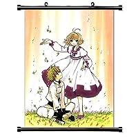 "Tsubasa Reservoir Chronicleアニメファブリック壁スクロールポスター(16"" x 22"") インチ。[ WP ] -tsubasa-152"