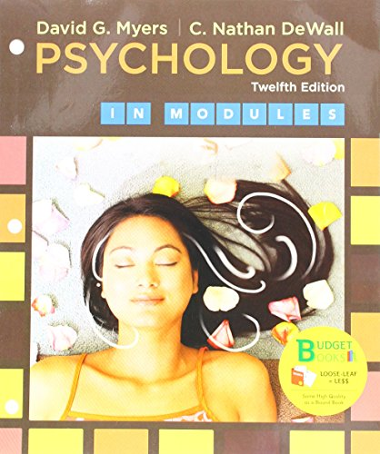 Download Psychology in Modules 1319068014