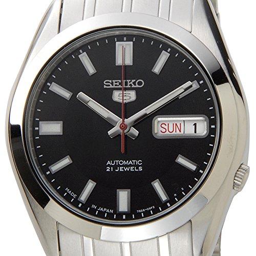 [セイコー]SEIKO セイコーファイブ メンズ 腕時計 SNKE87J1 日本製 SEIKO5 セイコー5 オートマティック 自動巻き ブラック [逆輸入品]