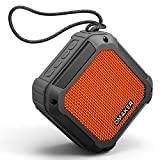 Omaker Nature ポータブルBluetooth4.2 スピーカー IPX6防水 イコライザーモード搭載 TWS機能対応 (12時間連続再生/20m通信距離/ハンズフリー通話) オレンジ