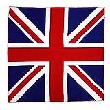 コットン100%大判ハンカチ  バンダナ(国旗) (イギリス)