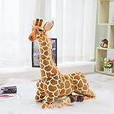 Soft Toy 100Cm Giant Giraffe Plush Toy Cute Plush Animal Soft Giraffe