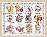 【DMC】 クロスステッチ 刺繍キット BK1460 Afternoon Tea Sampler