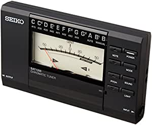 SEIKO セイコー クロマティックチューナー 薄型 針式 SAT1200
