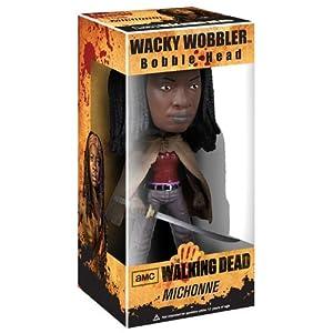 TVドラマTHE WALKING DEAD(ウォーキング デッド)MICHONNE(ミショーン)WACKY WOBBLER BOBBLE-HEAD【並行輸入品】