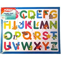PLAYSKOOL 36cm x 28cm 12 Piece Letter Puzzle With Frame Tray Great Gift