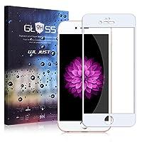 [WL JUST]iPhone 日本ガラス使用 保護フィルム 9H 強化ガラス 3D立体アラウンド加工