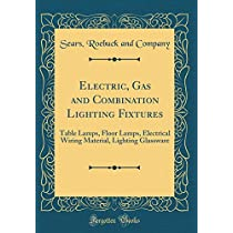 Electric, Gas and Combination Lighting Fixtures: Table Lamps, Floor Lamps, Electrical Wiring Material, Lighting Glassware (Classic Reprint)