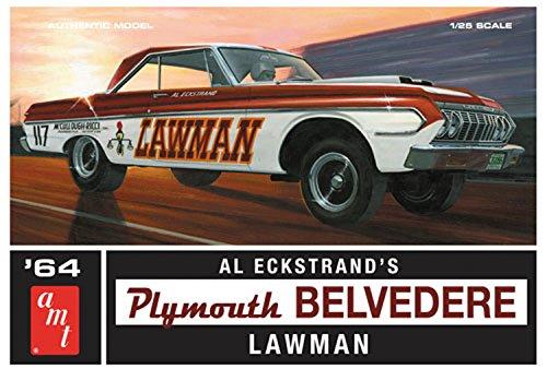 プラッツ AMT986 1/25 1964 プリムス ベルベディア ロウマン スーパーストックの詳細を見る