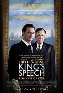 英国王のスピーチ - 11 x 17 映画ポスター - B型