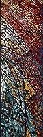 Momeni Rugs LOFT0LO-07MTI2376 Loft Collection Contemporary Area Rug 2'3 x 7'6 Runner Multicolor [並行輸入品]